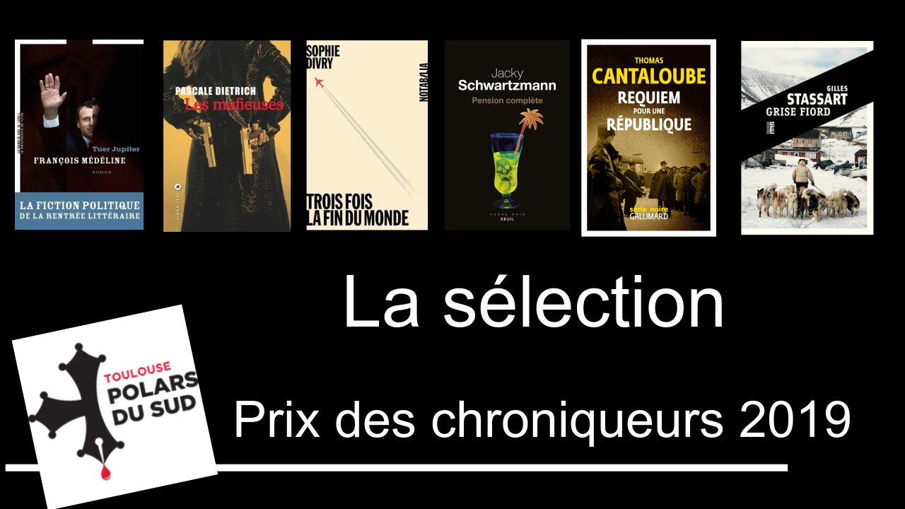 Prix des Chroniqueurs TPS 2019