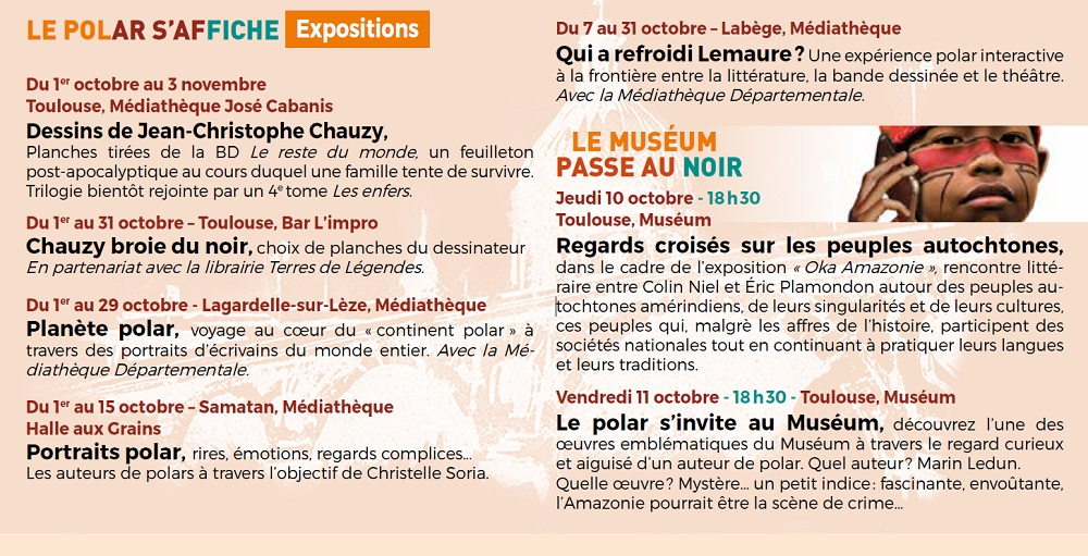 Les Expositions . . .