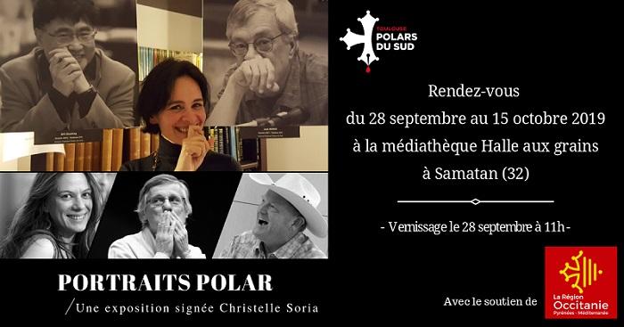 Exposition photo « Portraits Polar » à la médiathèque Halle-aux-Grains de Samatan