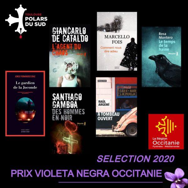 Prix Violeta Negra Occitanie : la sélection 2020 !