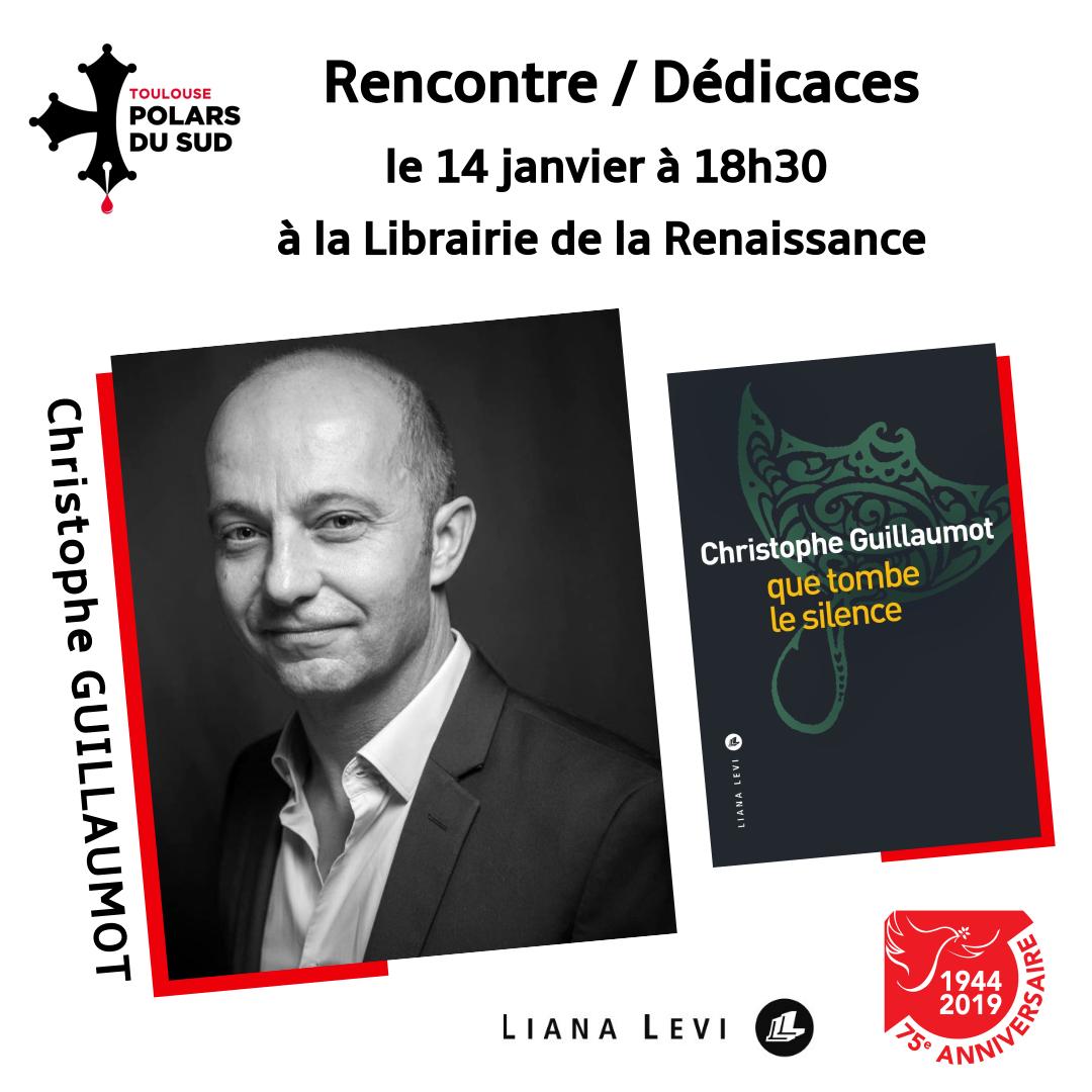 Rencontre avec Christophe Guillaumot le 14 janvier 2020