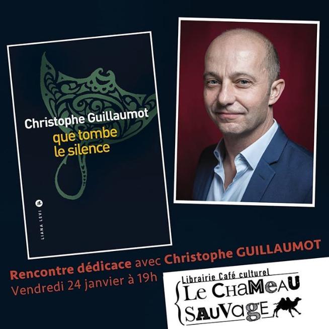 Christophe Guillaumot au Chameau Sauvage  le 24 janvier 2020