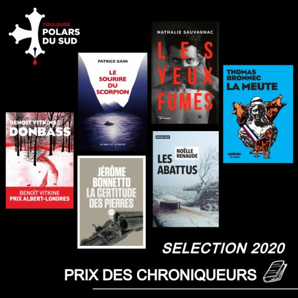 Prix des Chroniqueurs Toulouse Polars du Sud 2020