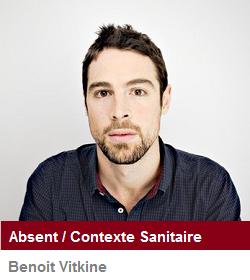 Benoit Vitkine - Absent - Nom