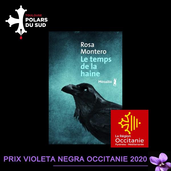 Rosa Montero Prix Violeta Negra Occitanie 2020