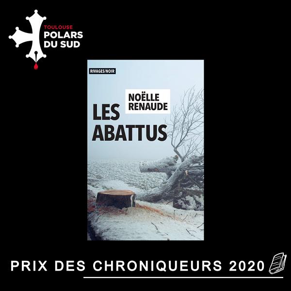 Noëlle Renaude Prix des Chroniqueurs 2020